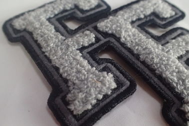 100% Towel Sew Chenille Custom Embroidered Patches