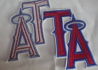 Textile Sew On Woven Clothing Custom Embroidered Patches